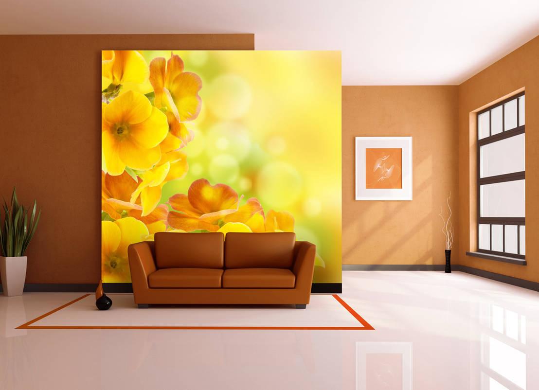 ideen f r ein gelbes wohnzimmer. Black Bedroom Furniture Sets. Home Design Ideas