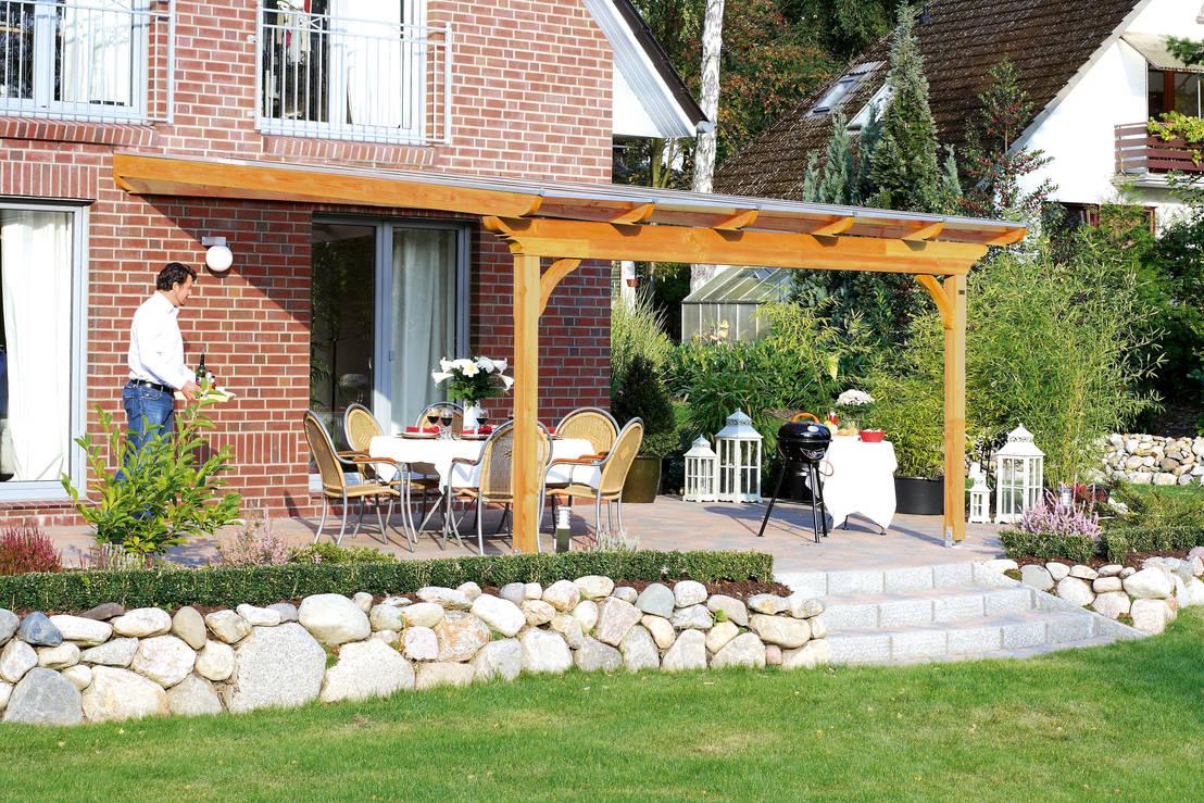 Handige idee n voor het terras de carport en de tuin - Inrichting van het terras ...