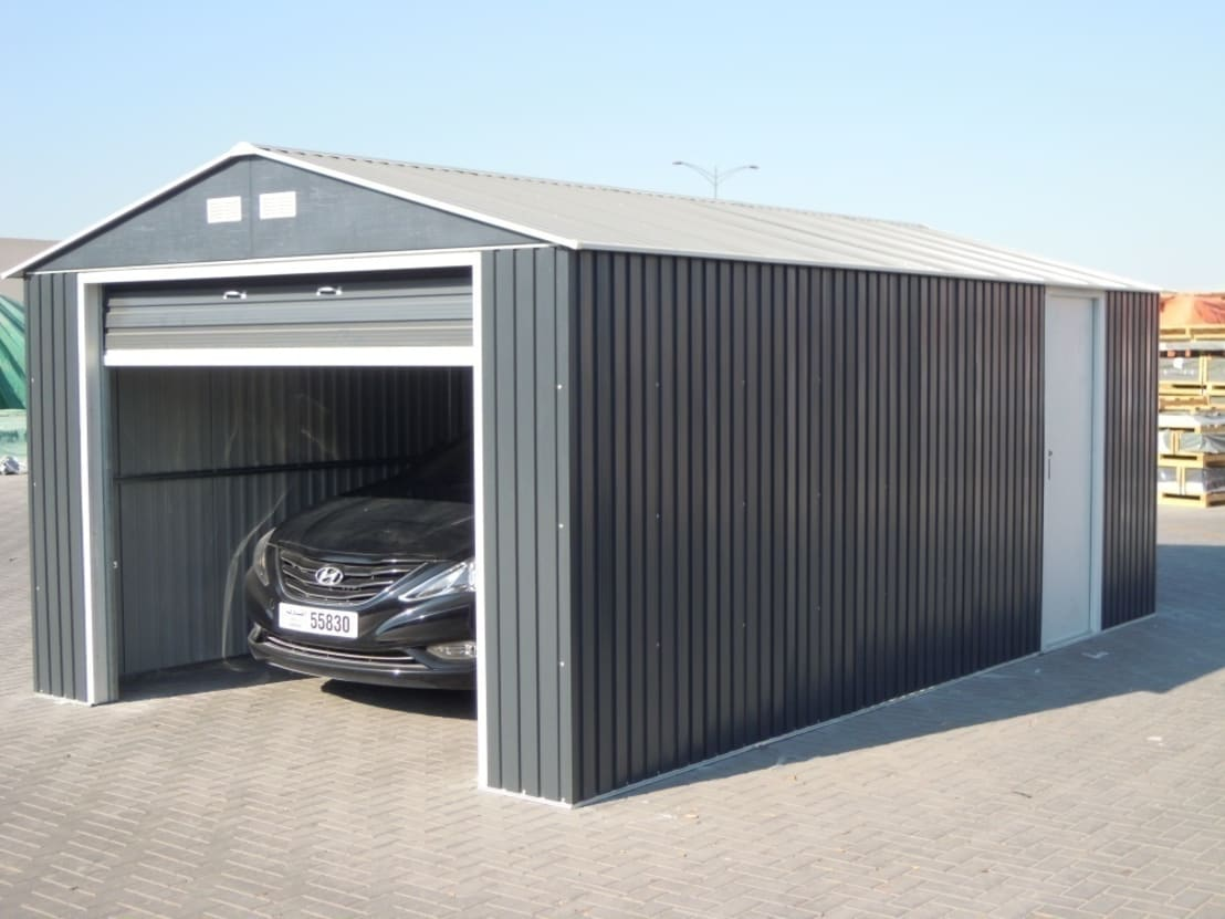 Abri garage by france abris sp cialiste abri de jardin for Abri de jardin france