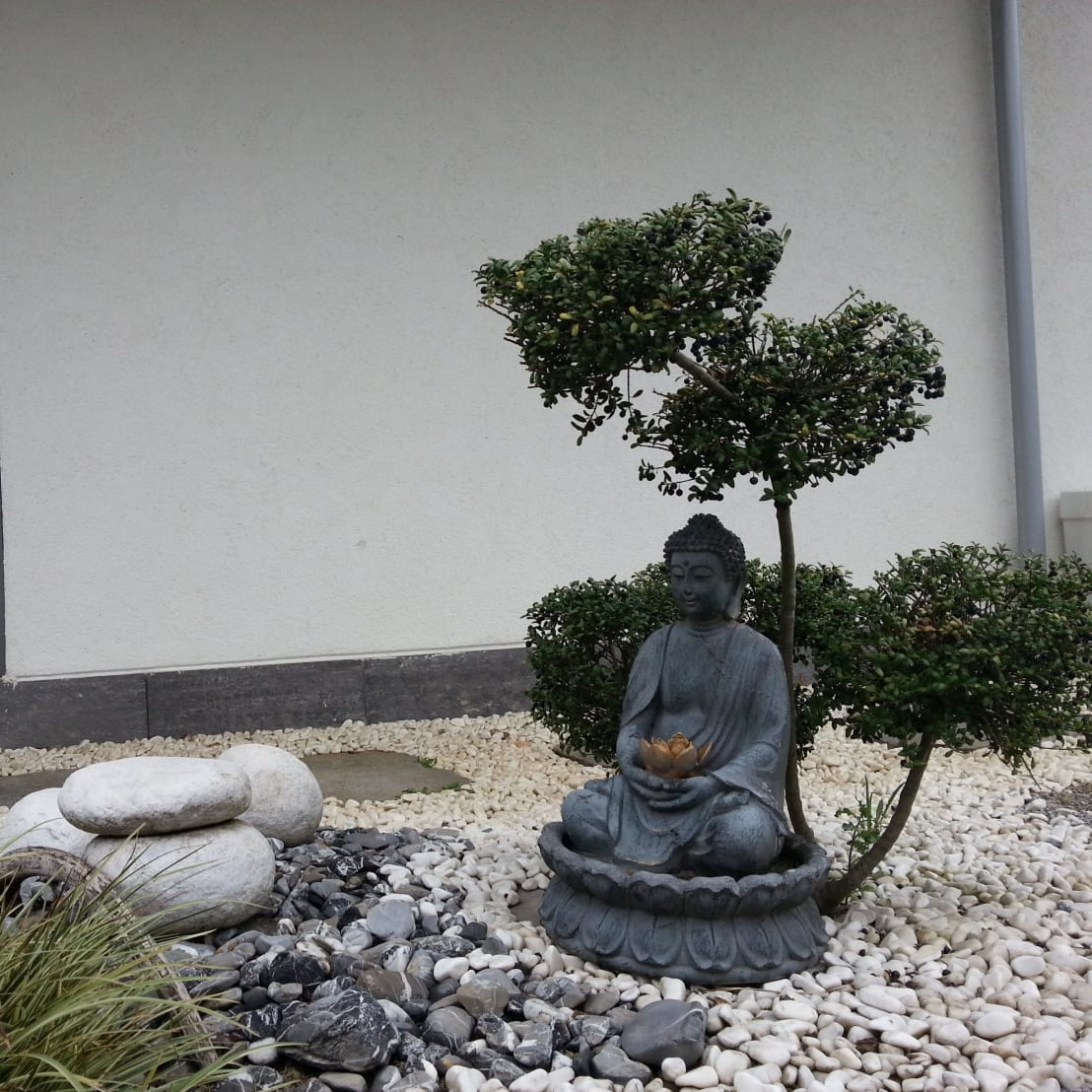 DIY a Zen mini courtyard in your room