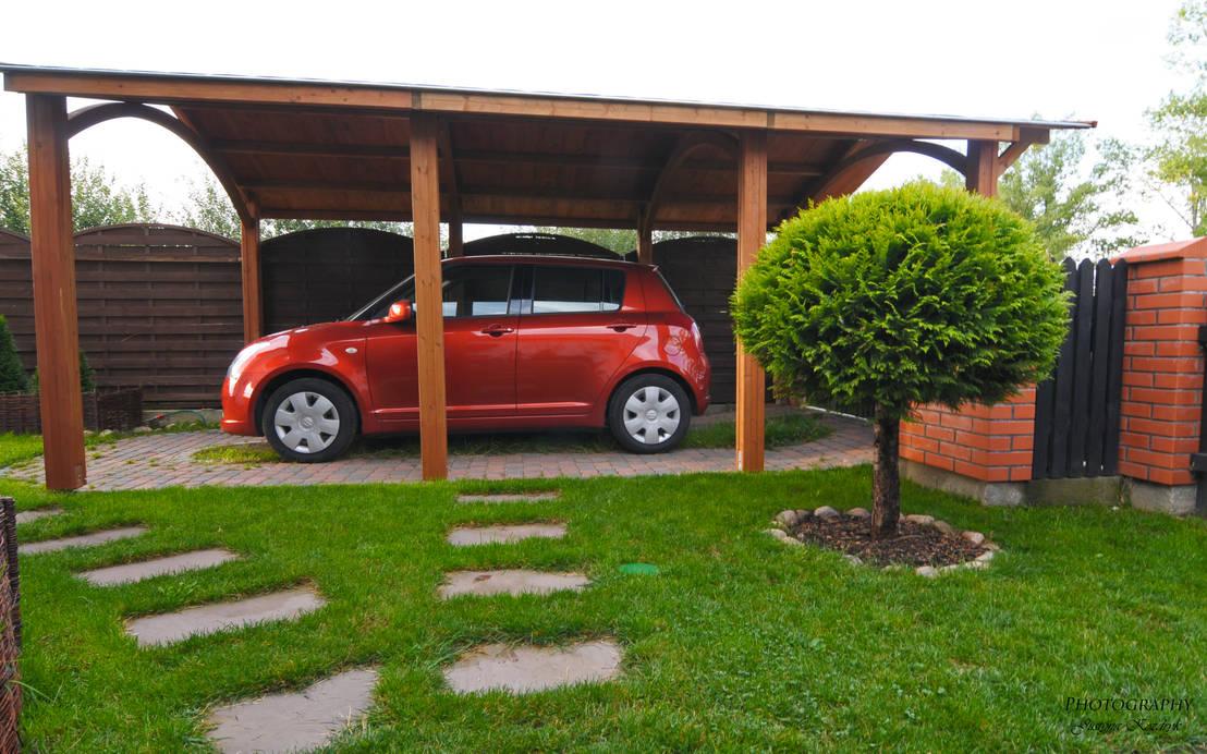 Porches de coche independientes de jagram pro homify - Porches para coches ...