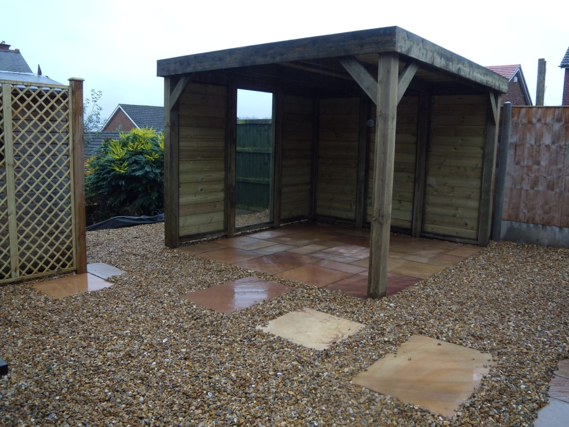 Out door living de pristine garden rooms homify for Pristine garden rooms