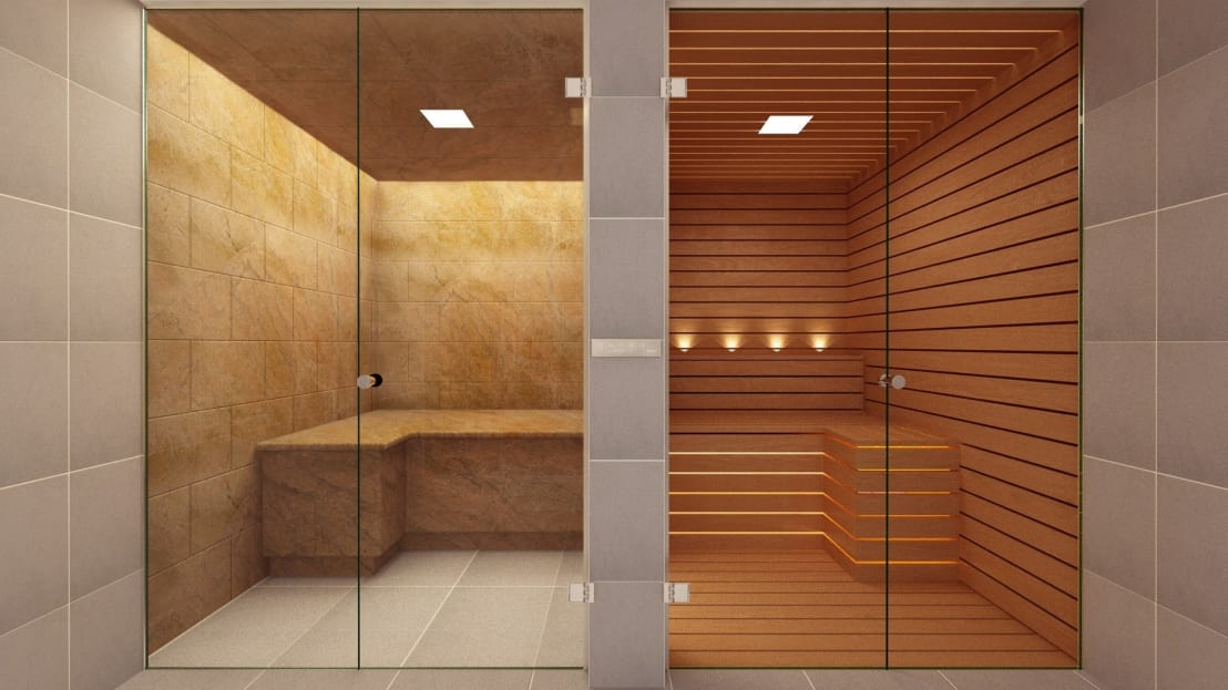 bespoke glass steam room and sauna by steam and sauna innovation homify. Black Bedroom Furniture Sets. Home Design Ideas