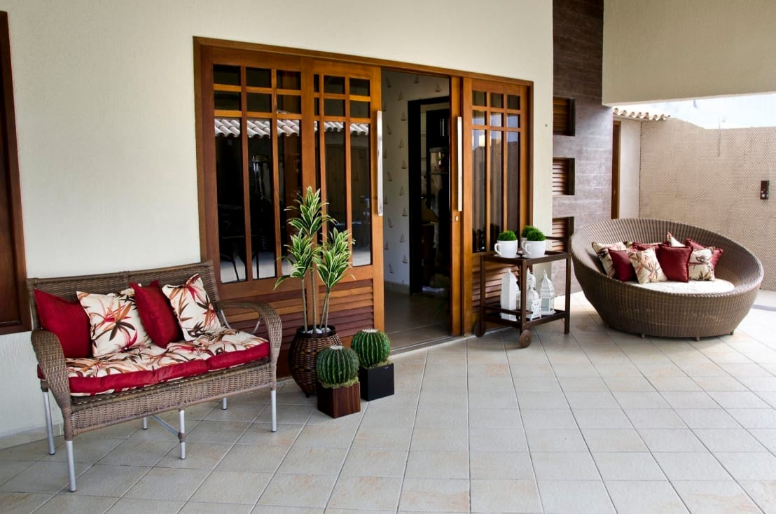 Las mejores puertas para el patio y la terraza estilos - Puertas para porches ...