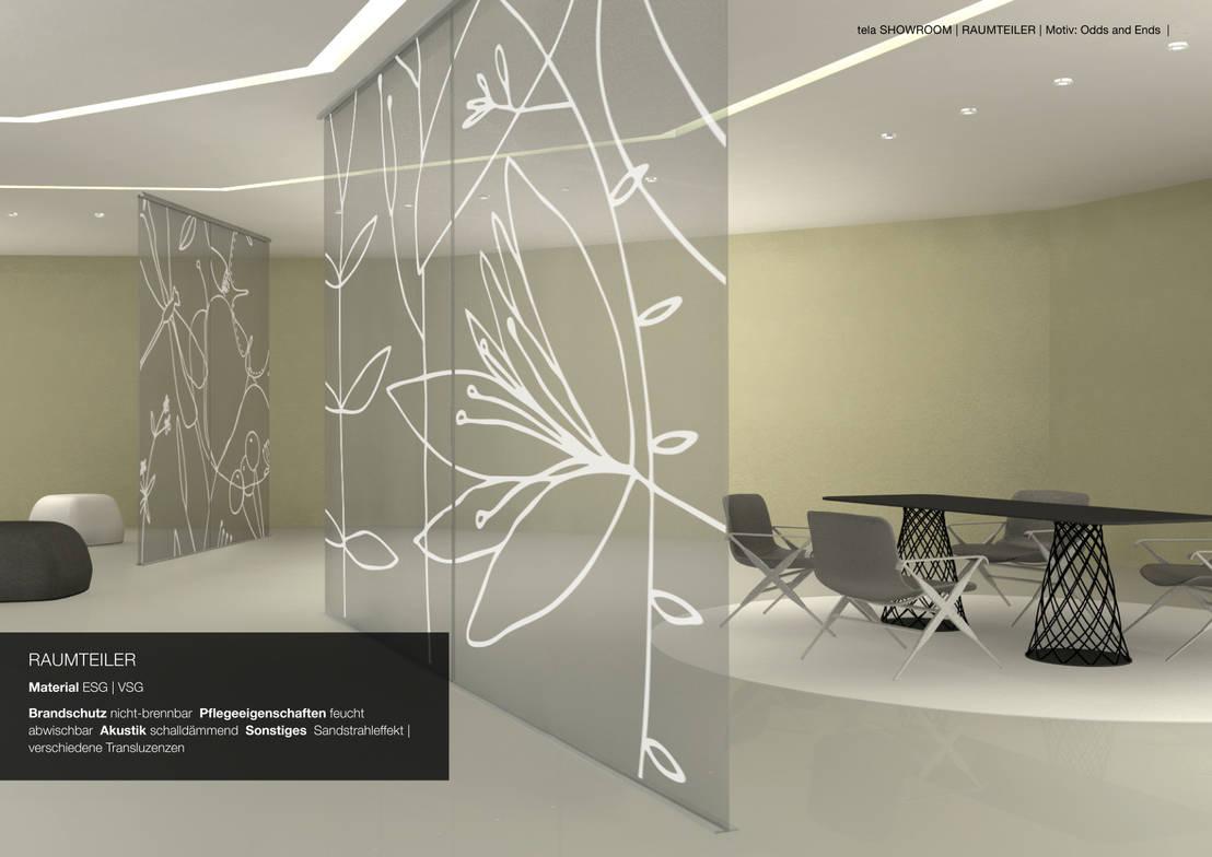 Raumteiler Aus Gewebe Oder Glas By Tela Design Homify