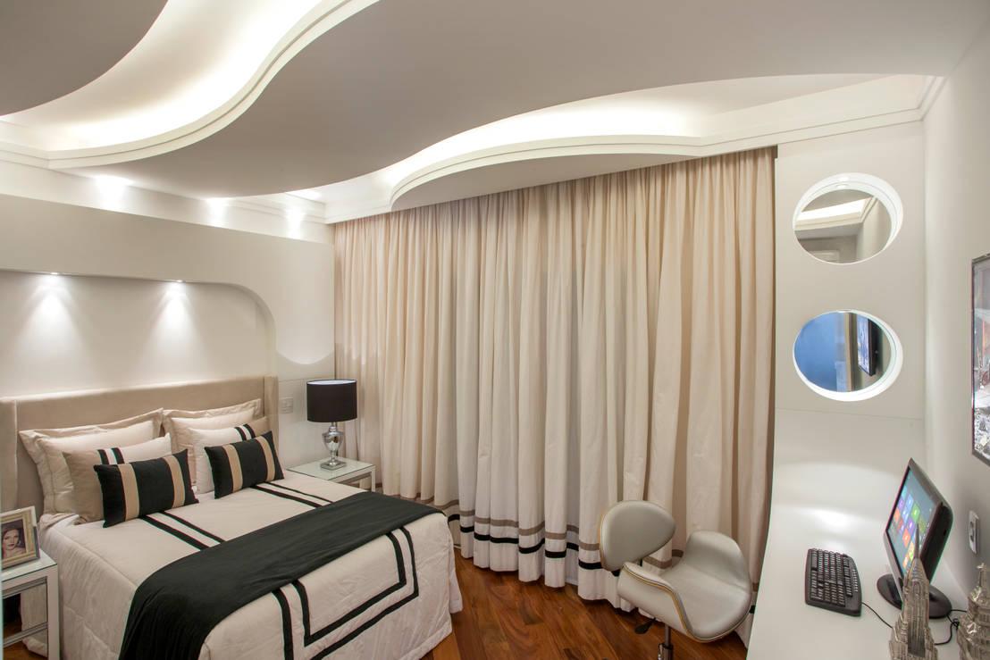 6 techos de yeso modernos que emebellecer n tu cuarto for Techos de tablaroca modernos