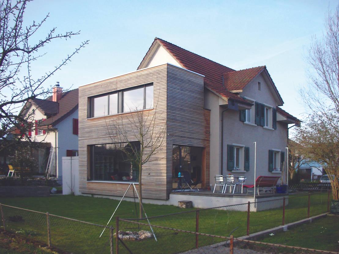 Een moderne uitbreiding bij een leuk huis - Idee huis uitbreiding ...