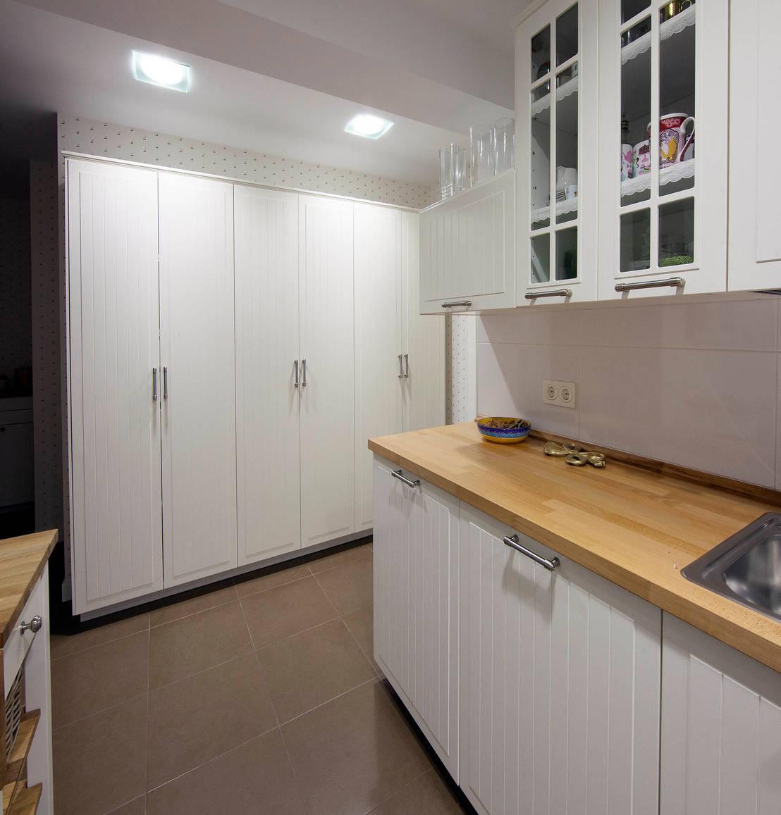 Reforma completa de vivienda de priburgos slu homify - Cocinas estilo colonial ...