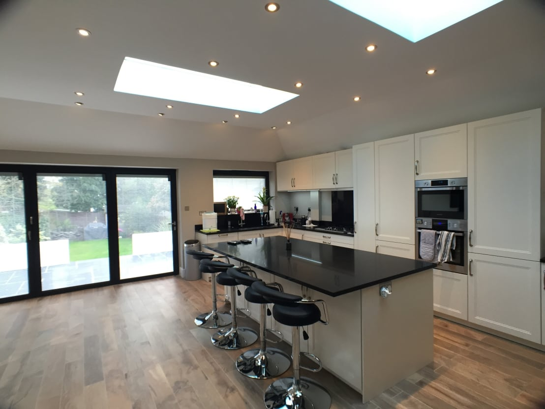 6 m rear extension design and build by progressive design for Building a kitchen extension ideas