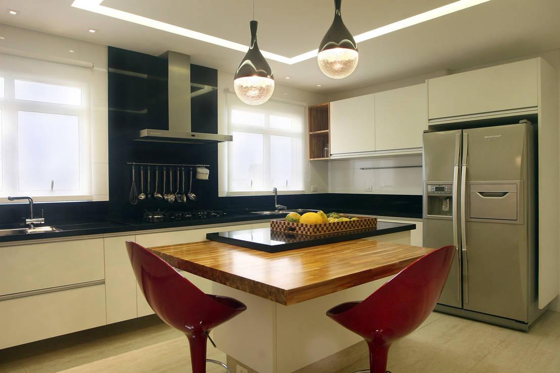 Apartamento vila rica santos de lucia navajas arquitetura - Muebles de cocina en paraguay ...