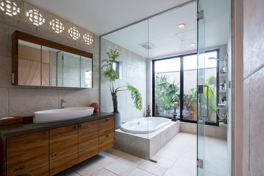 Mobile da bagno in arte povera. design al servizio dei materiali