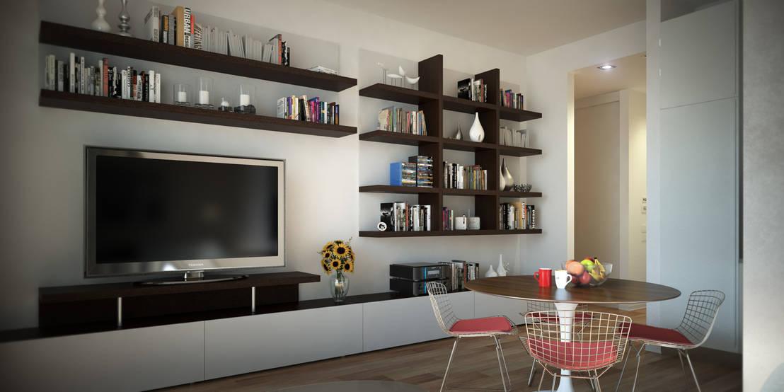 Interni appartamenti a mosca di ak srl homify for Interni srl