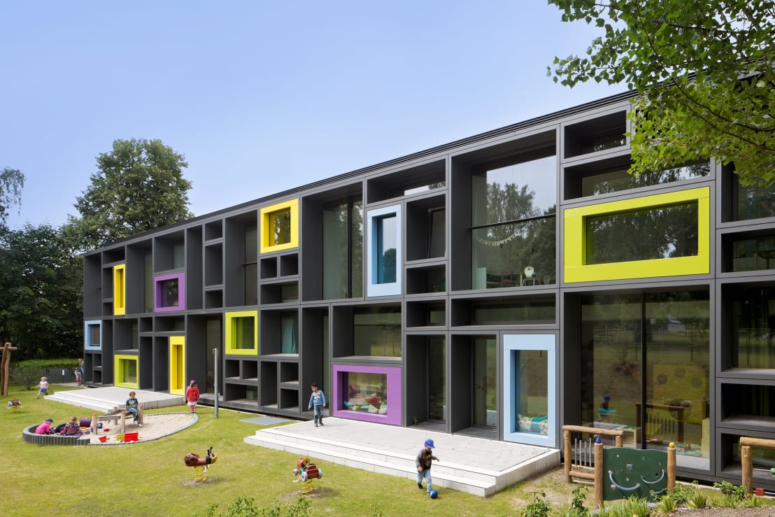 Landschaftsarchitekten Köln kita troplo der beiersdorf ag by greenbox