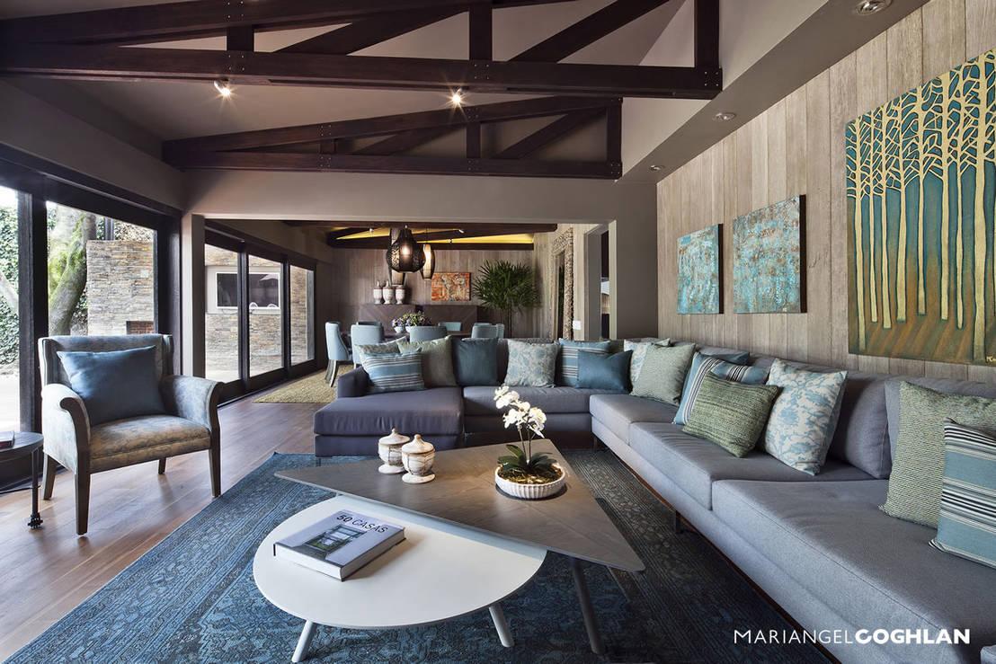 finde die perfekte wandfarbe f r dein wohnzimmer. Black Bedroom Furniture Sets. Home Design Ideas