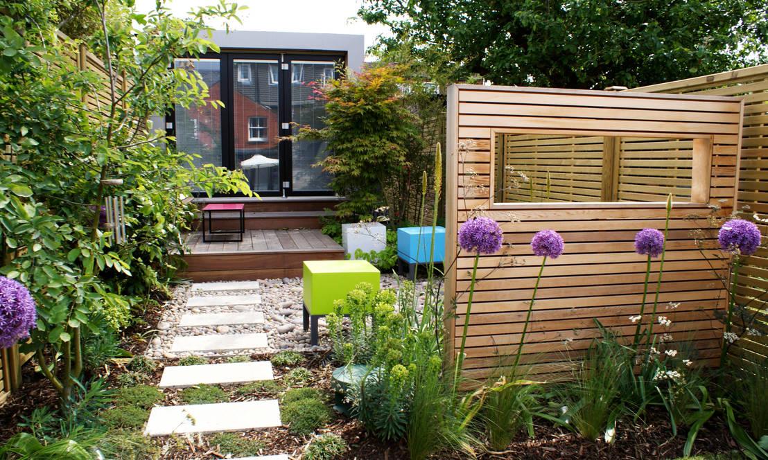 18 idee per far sembrare il terrazzo o il giardino pi grande for Tutto per il terrazzo