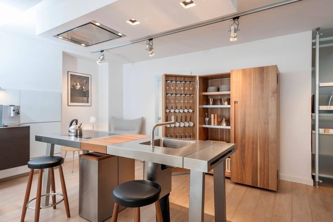 bulthaup b2 showroom pontarlier por bulthaup espace de vie. Black Bedroom Furniture Sets. Home Design Ideas