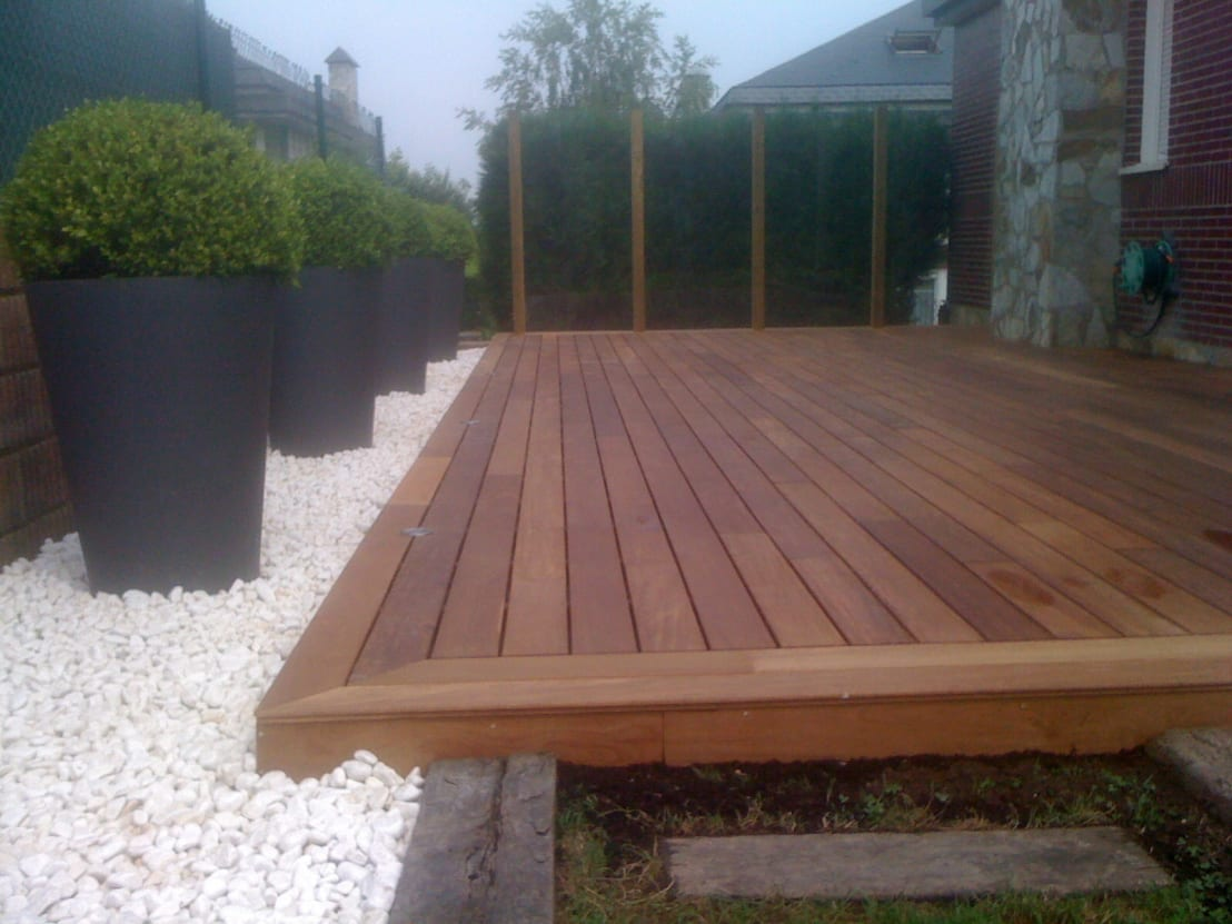 Terrazas de madera by paisajes albert homify - Terrazas de madera ...