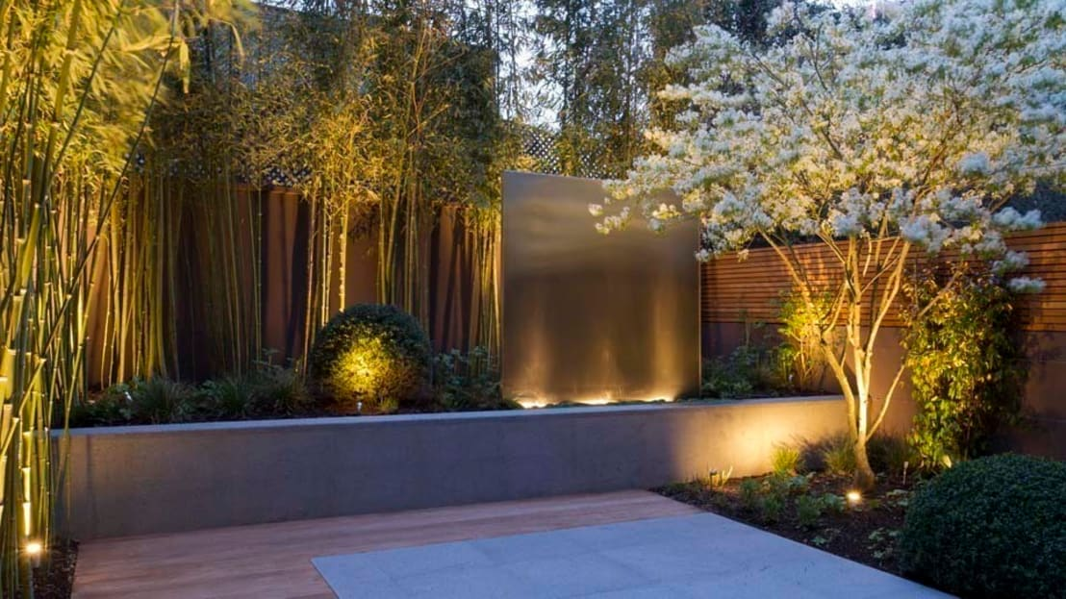 13 ideas de jardineras de concreto perfectas para patios - Jardineras de cemento ...