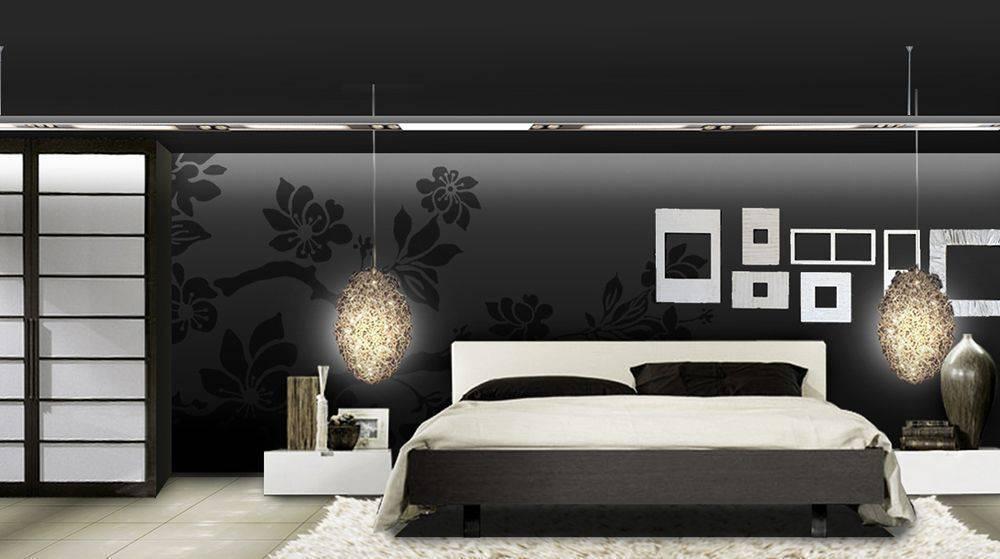 Chau tonos claros 6 formas de decorar la casa con el color negro - Habitaciones blancas y negras ...