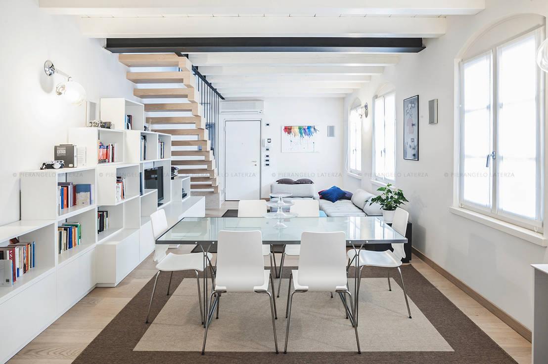 6 idee uniche per sfruttare lo spazio sotto le scale for Planimetrie uniche della casa