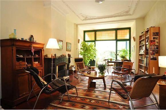 Vintage meubilair, interieur met een verleden