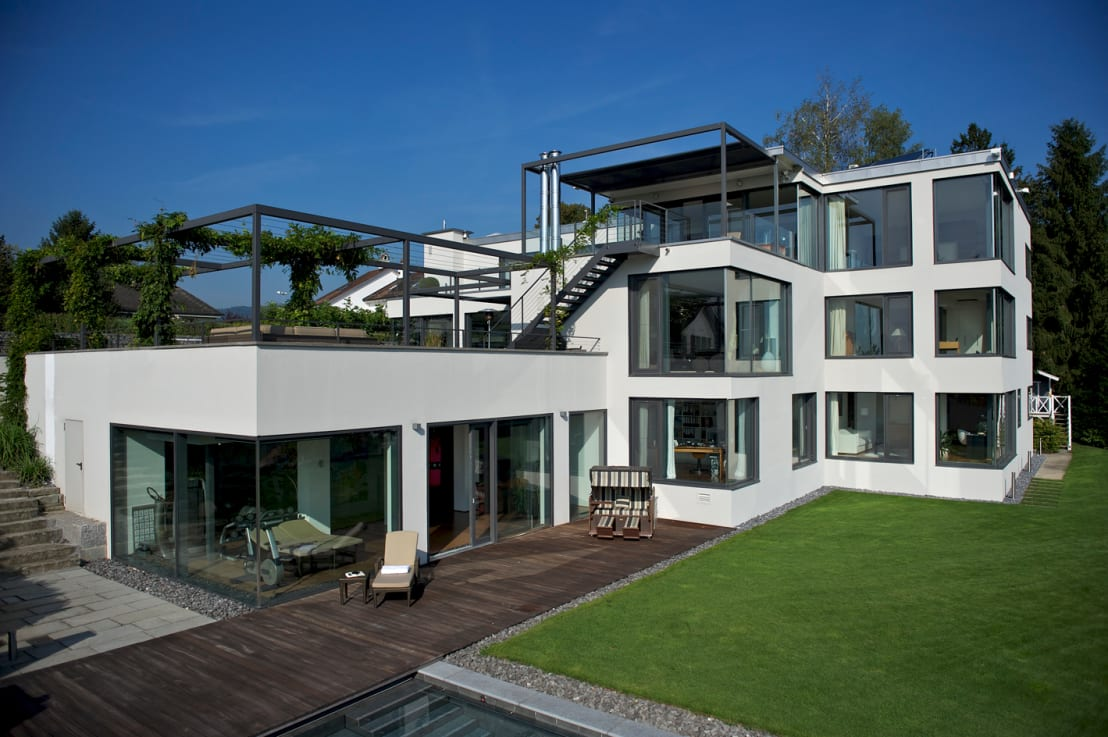 villa in thalwil de dr schmitz riol planungsgesellschaft mbh homify. Black Bedroom Furniture Sets. Home Design Ideas