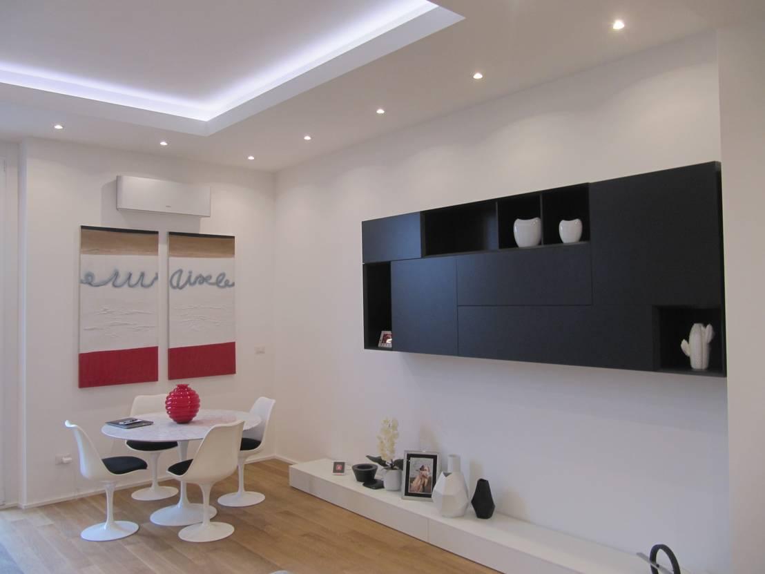 Progetto appartamento in milano 2015 di cozzi arch mauro homify - Illuminazione casa moderna ...
