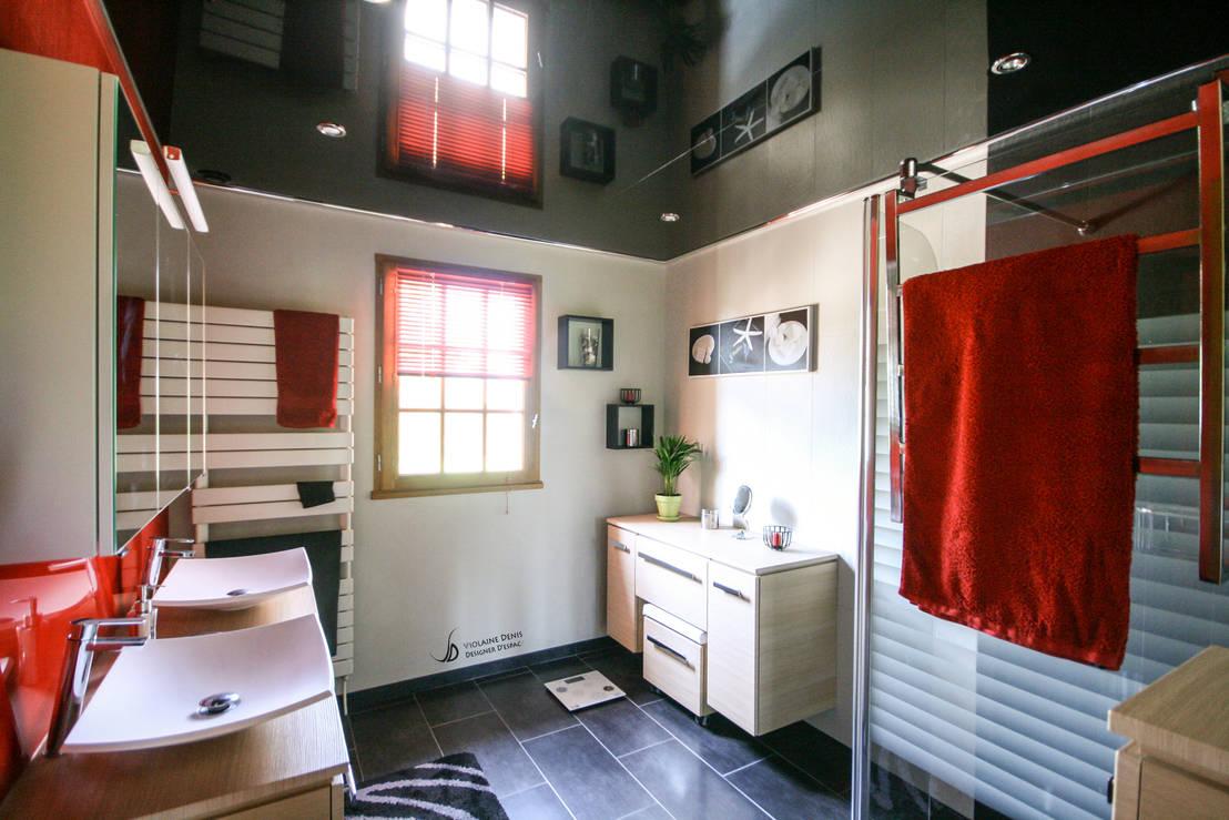 r novation d 39 une salle de bain moderne de violaine denis homify. Black Bedroom Furniture Sets. Home Design Ideas