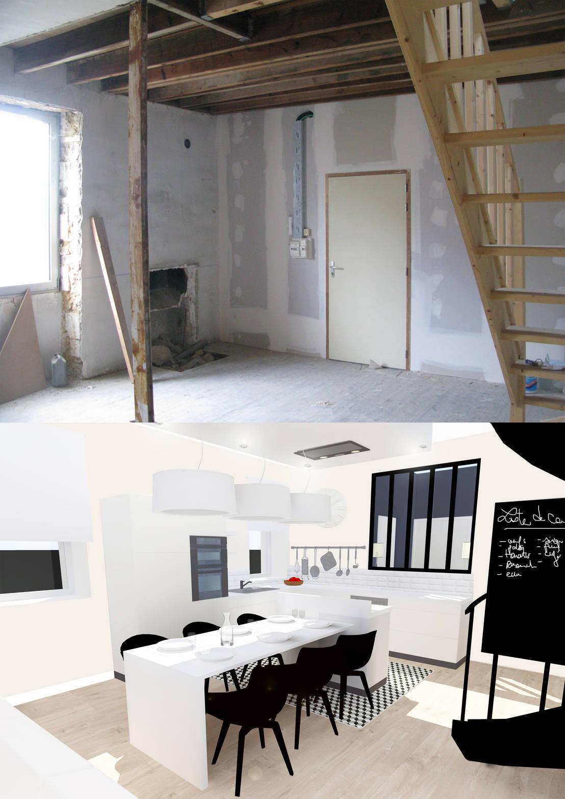 R Novation D 39 Un Duplex Pr T De Nantes De Uniq Int Rieurs