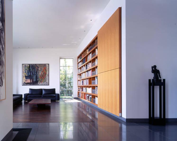 privathaus des kunstsammlers hans grothe duisburg von raumkontor innenarchitektur architektur. Black Bedroom Furniture Sets. Home Design Ideas