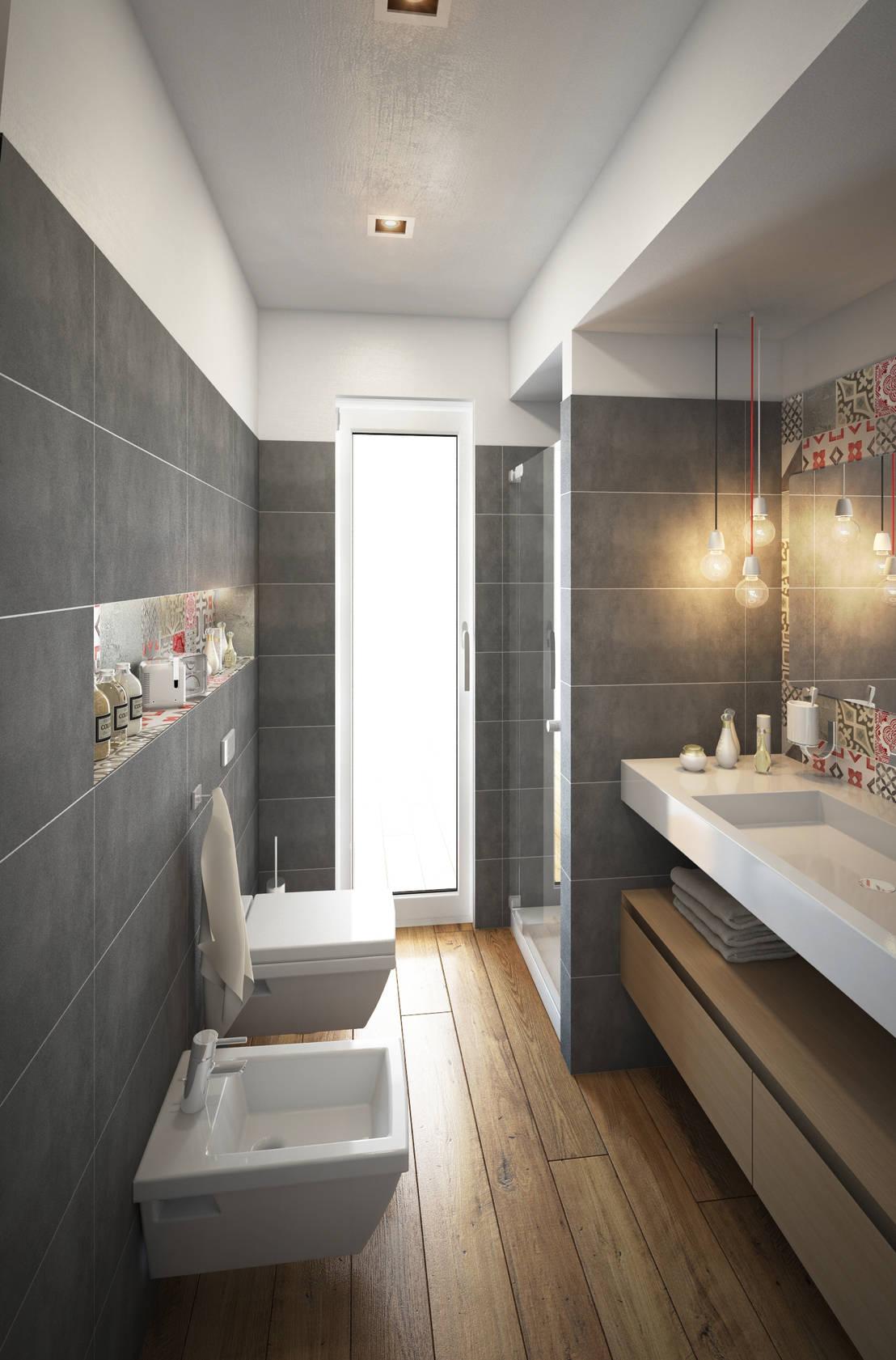 ห้องน้ำสีขาวแต่งให้สวย ...