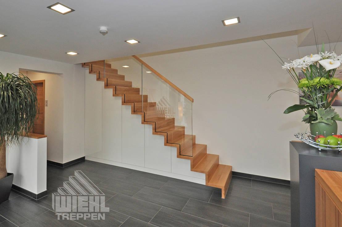 Wundervoll Wiehl Treppen Foto Von Treppe Im Faltwerkeffekt Mit Ganzglasgeländer Von Gmbh