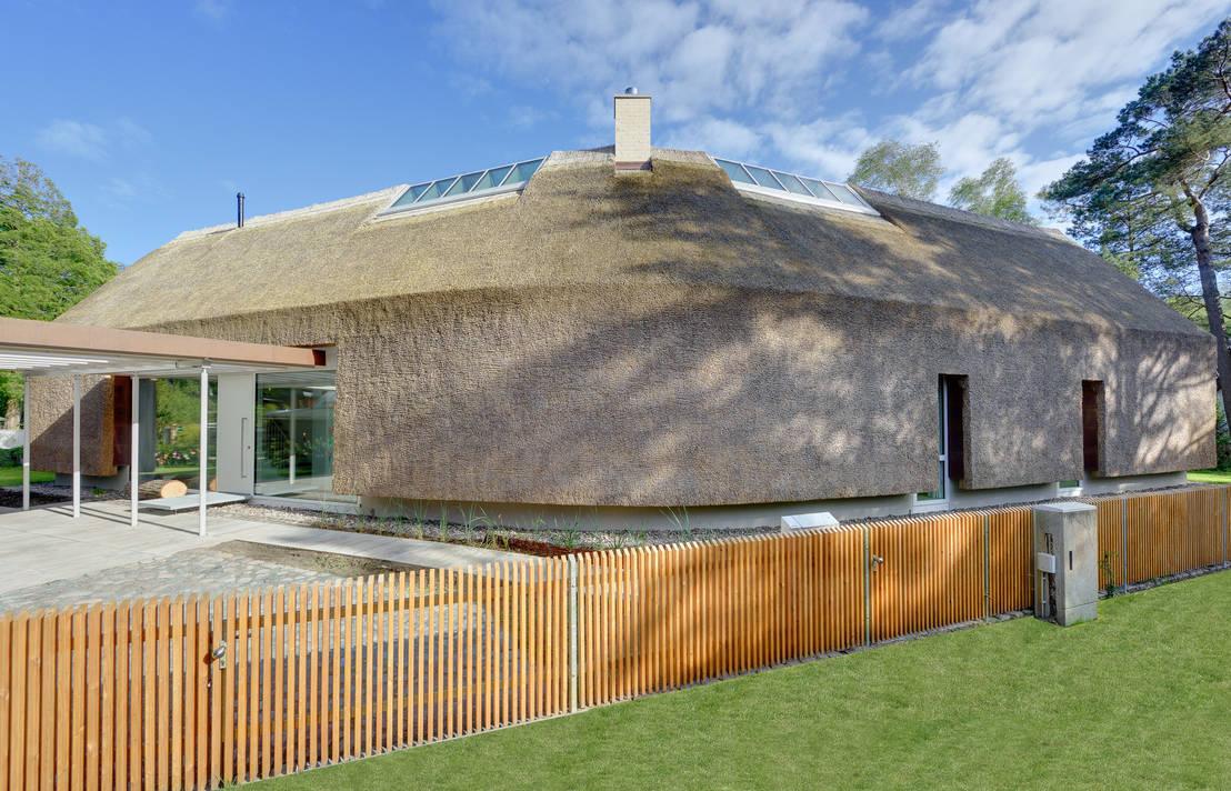 M hring architekten galeriehaus im d nenwald homify for Architekten bungalow modern