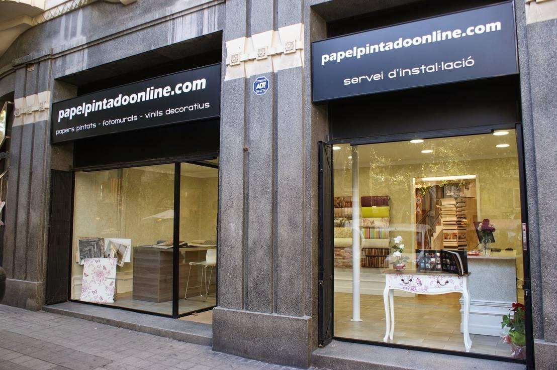 Tienda papel pintado barcelona de papel pintado online for Oficina qualitas auto barcelona
