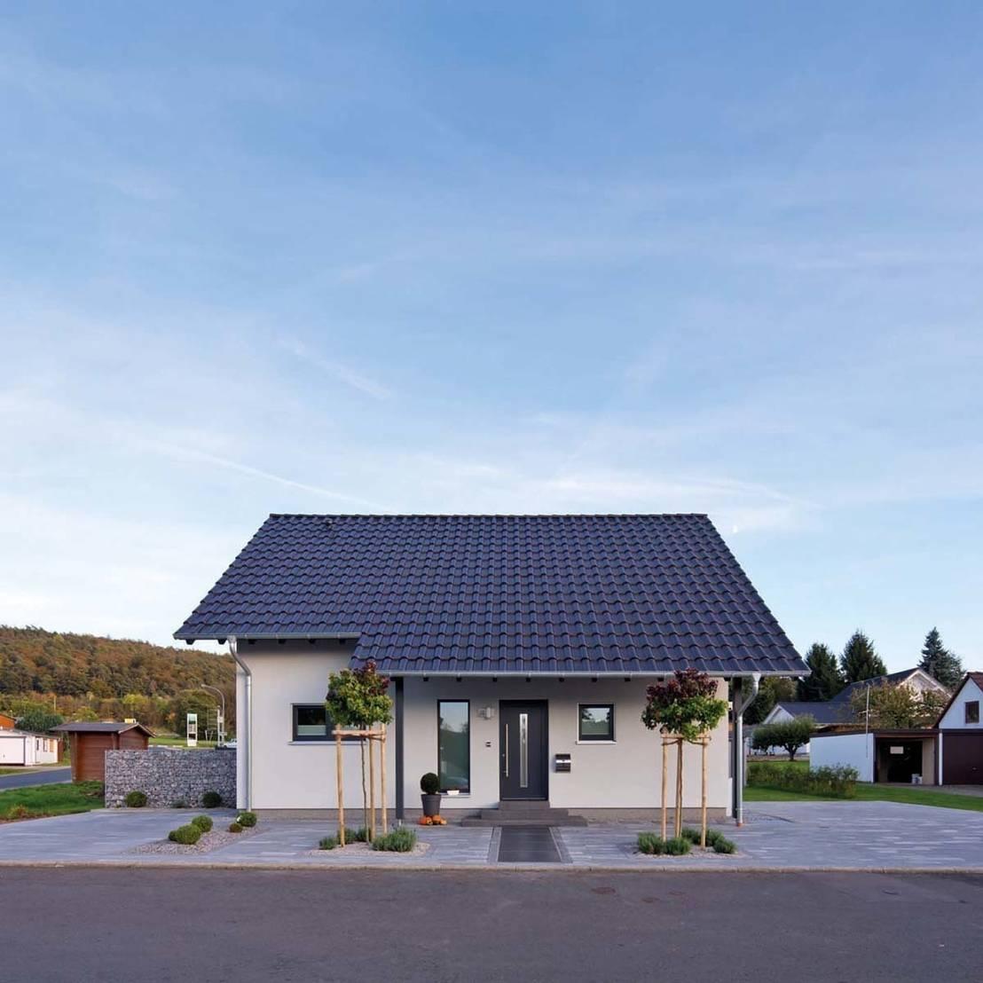 Una casa prefabricada de 124m moderna y econ mica for Casa moderna economica