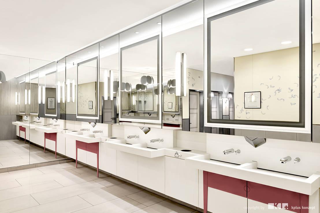 kundentoiletten mall minto von kplus konzept gmbh homify. Black Bedroom Furniture Sets. Home Design Ideas