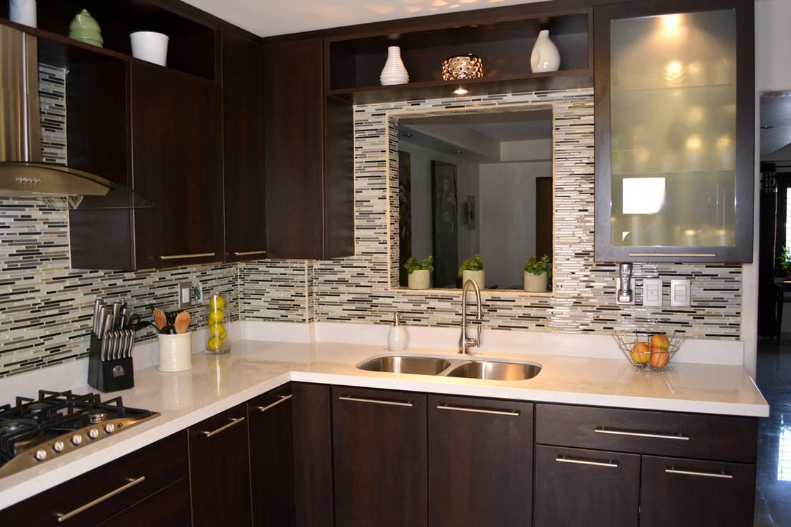 9 ideas para remodelar tu cocina con menos de 5000 pesos for Decoracion de cocinas modernas fotos