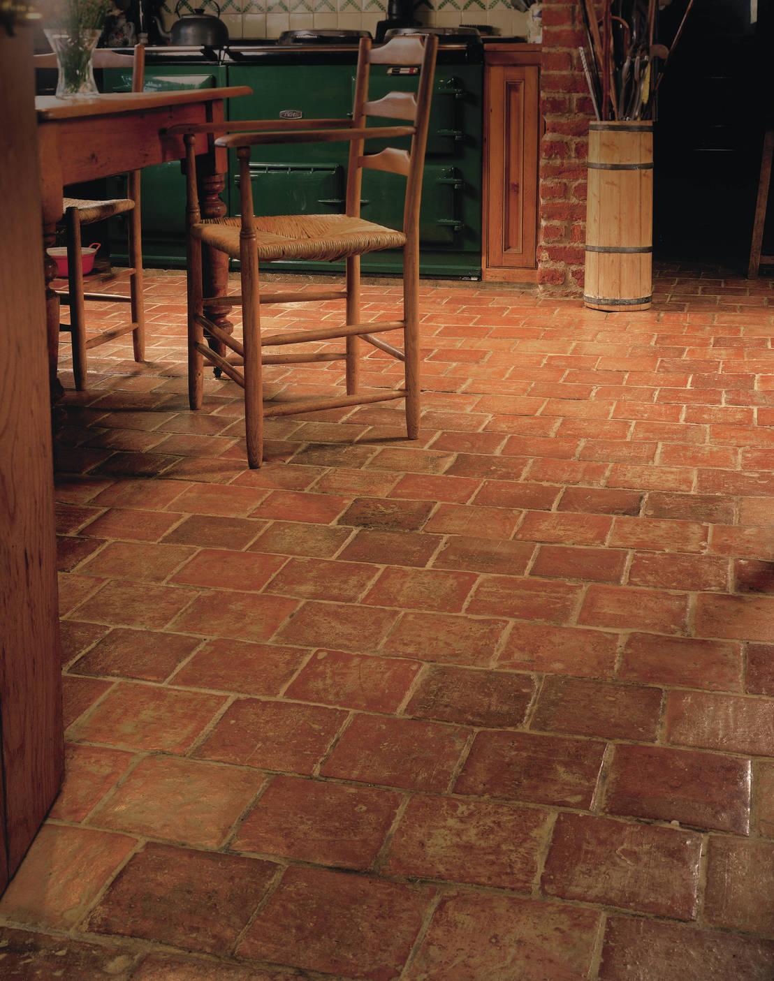 7 ideas de pisos r sticos para tu cocina - Azulejos rusticos para patios ...