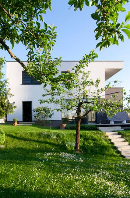 neubau eines wohnhauses niedrigenergiehaus weinheim. Black Bedroom Furniture Sets. Home Design Ideas