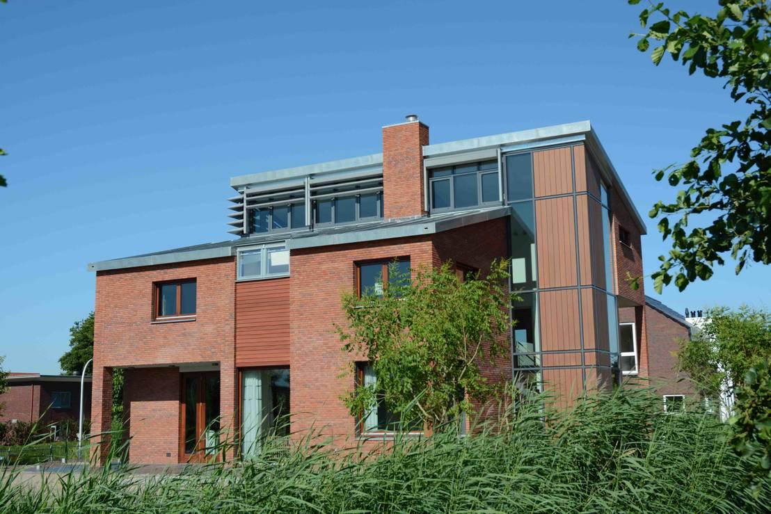 Moderne woning die een speciale parel in zich draagt