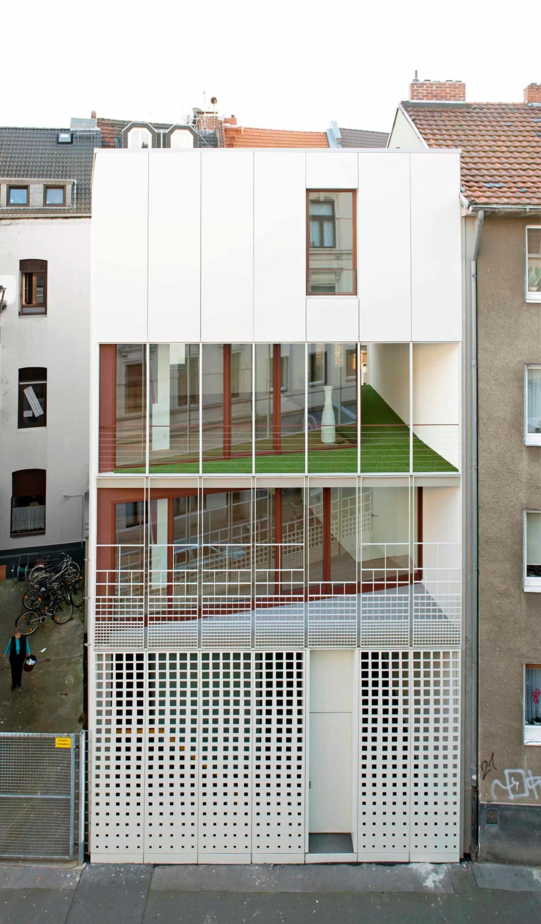 Stadthaus florastra e k ln by bachmann badie architekten homify - Bachmann badie architekten ...
