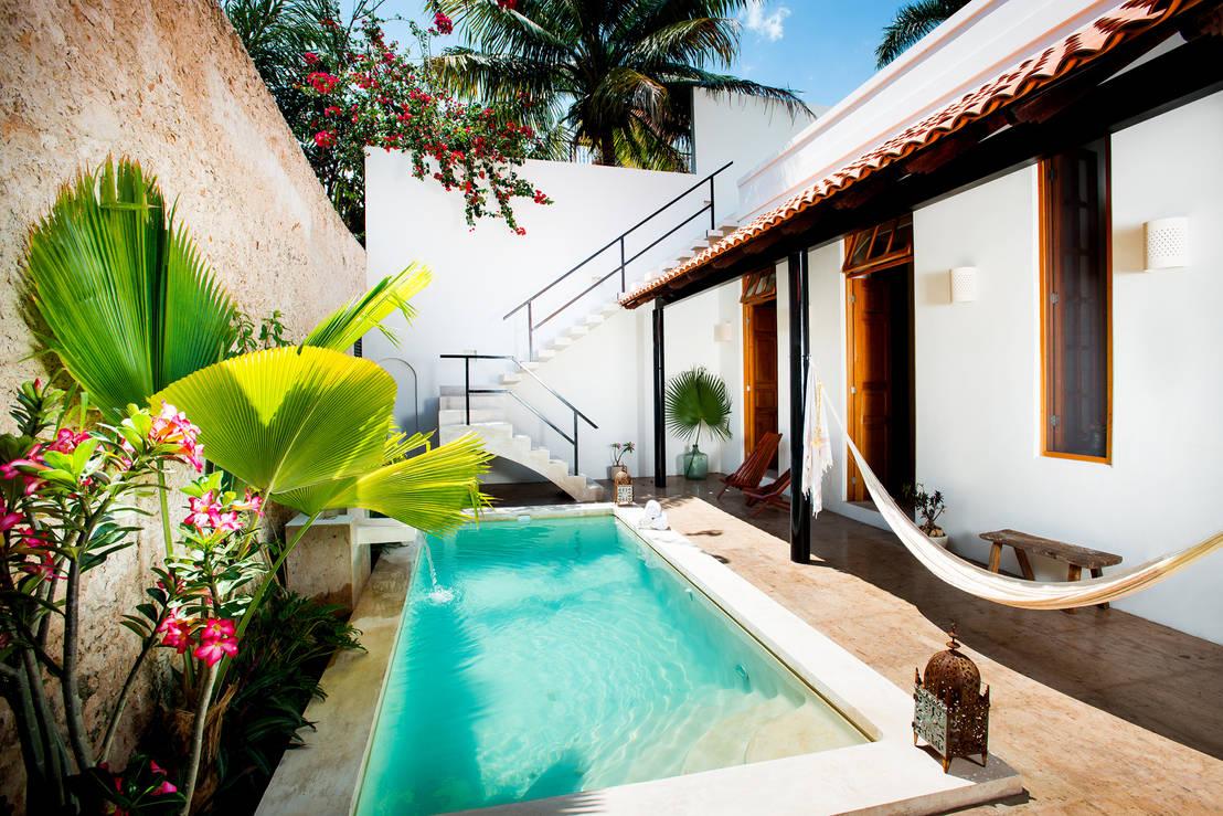 9 piscinas pequenas que cabem direitinho no seu quintal for Piscinas pequenas para patios pequenos