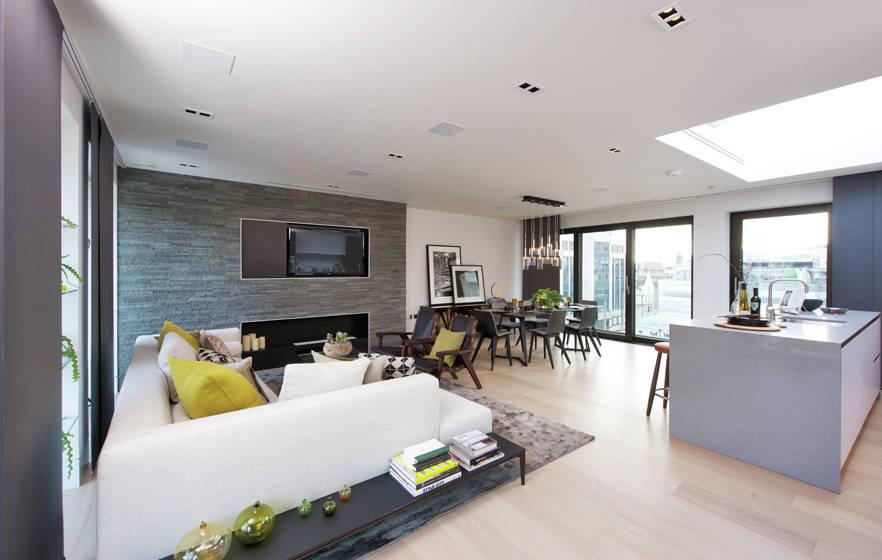 7 open space che uniscono soggiorno cucina e sala da - Cucina sala open space ...