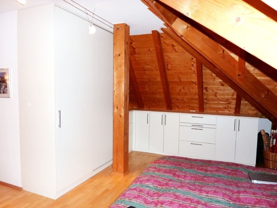 schlafzimmer einbauschr nke in der dachschr ge by pyra
