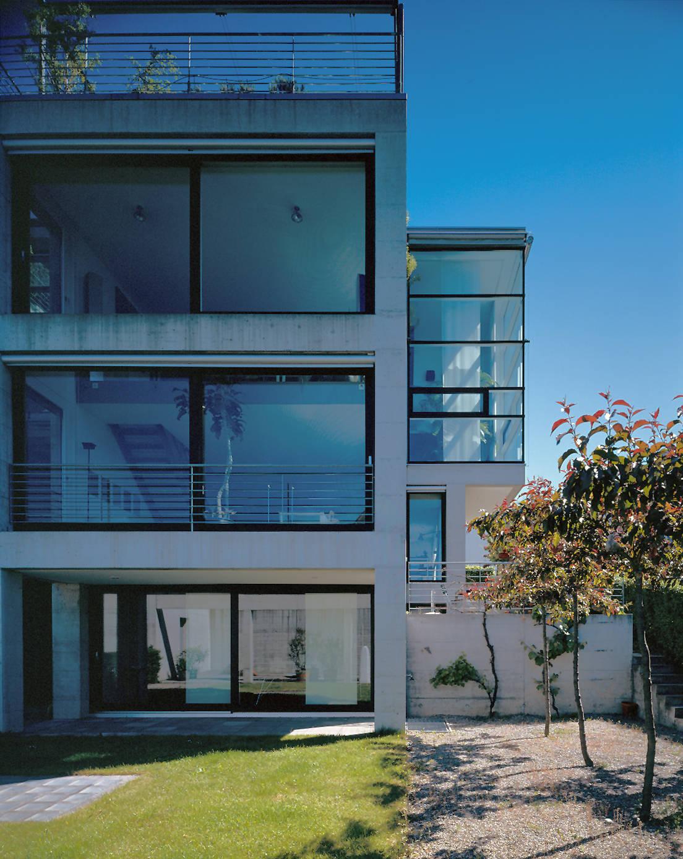 wohnhaus mit atelier z rich von bob gysin partner bgp homify. Black Bedroom Furniture Sets. Home Design Ideas
