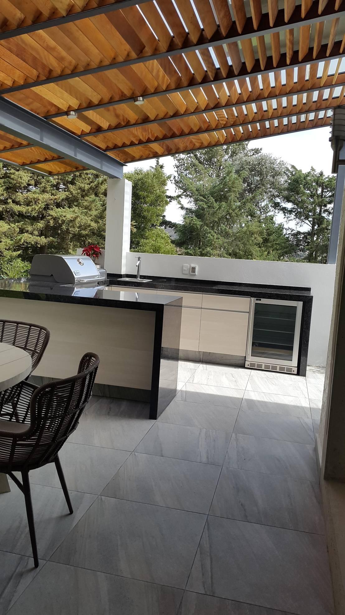 Asadores para jard n 10 espacios sensacionales for Comedores exteriores para terrazas