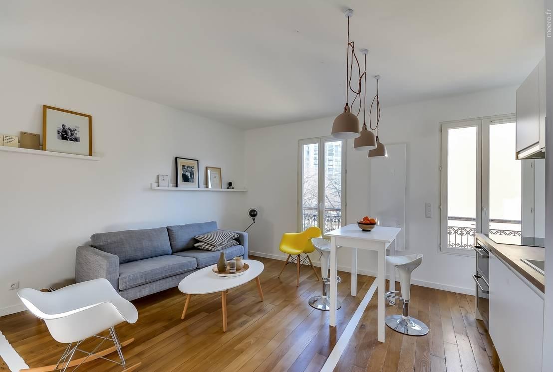 meero appartement parisien homify. Black Bedroom Furniture Sets. Home Design Ideas