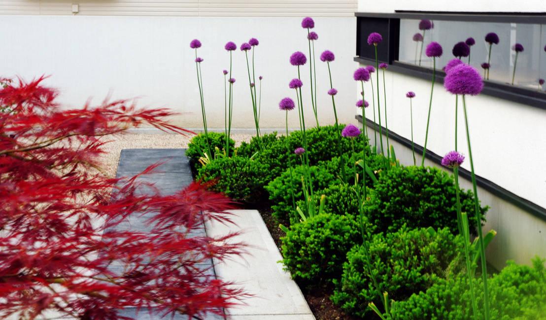 Inspiraciones para espacios abiertos: las jardineras