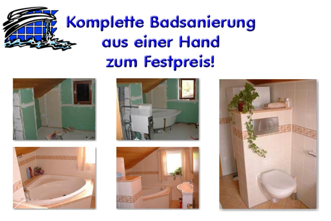 badplanung und kompletter badeinbau by bavaria b der. Black Bedroom Furniture Sets. Home Design Ideas