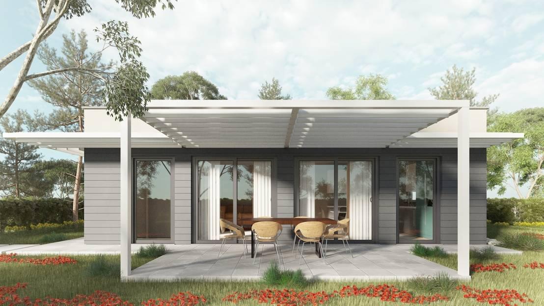 thezeb easy01 una casa per le giovani coppie de thezeb green building interiors homify. Black Bedroom Furniture Sets. Home Design Ideas